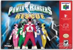 Power Rangers - Lightspeed Rescue (USA) Box Scan